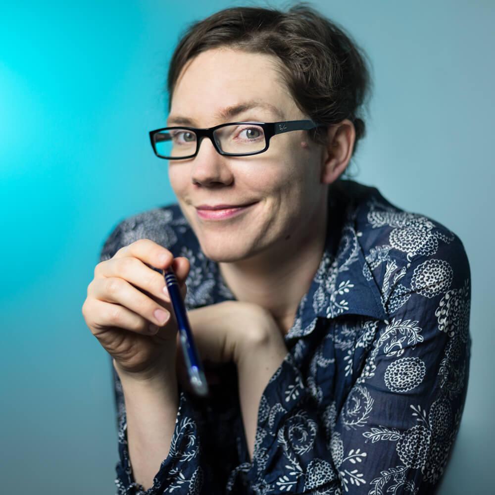 Portrait Anyta Sunday, Gay Romance Writer