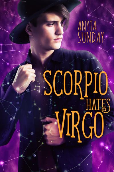 Gay Romance Novel Scorpio Hates Virgo by Anyta Sunday