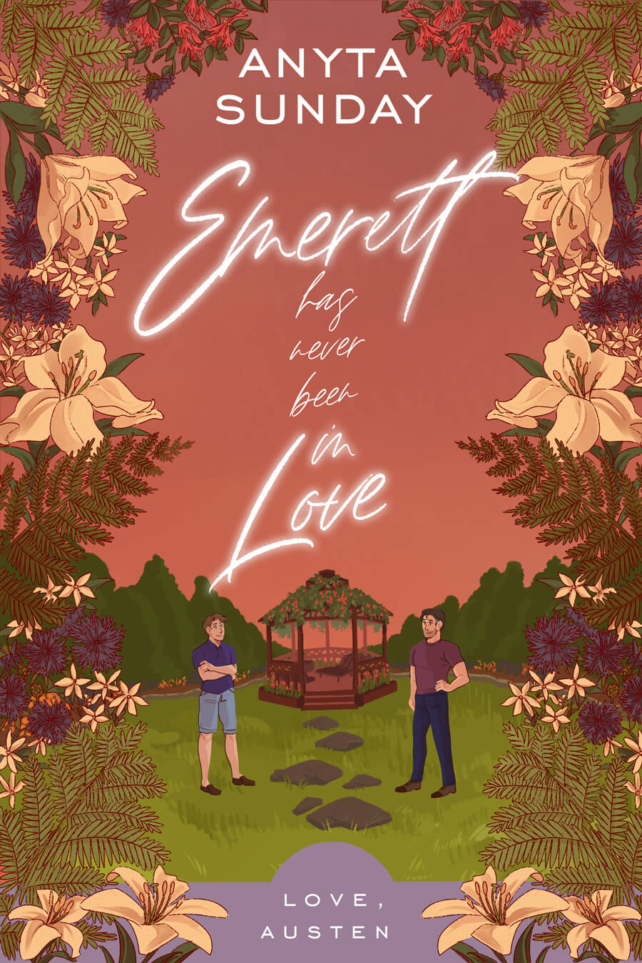 Gay Romance Novel Emerett has never been in Love by Anyta Sunday
