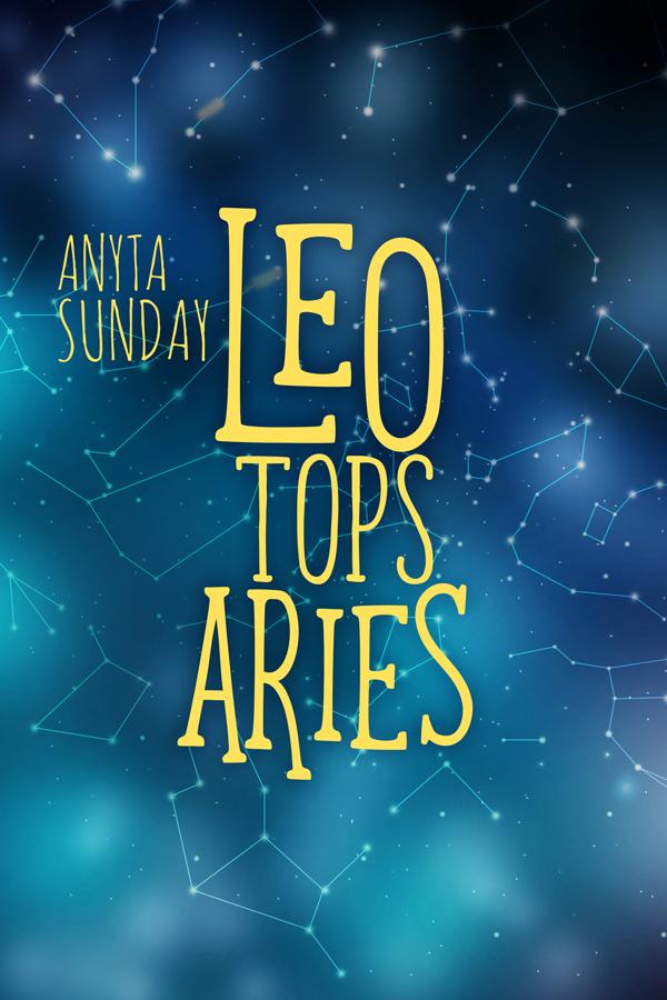 Gay Romance Novel Leo Loves Aries by Anyta Sunday