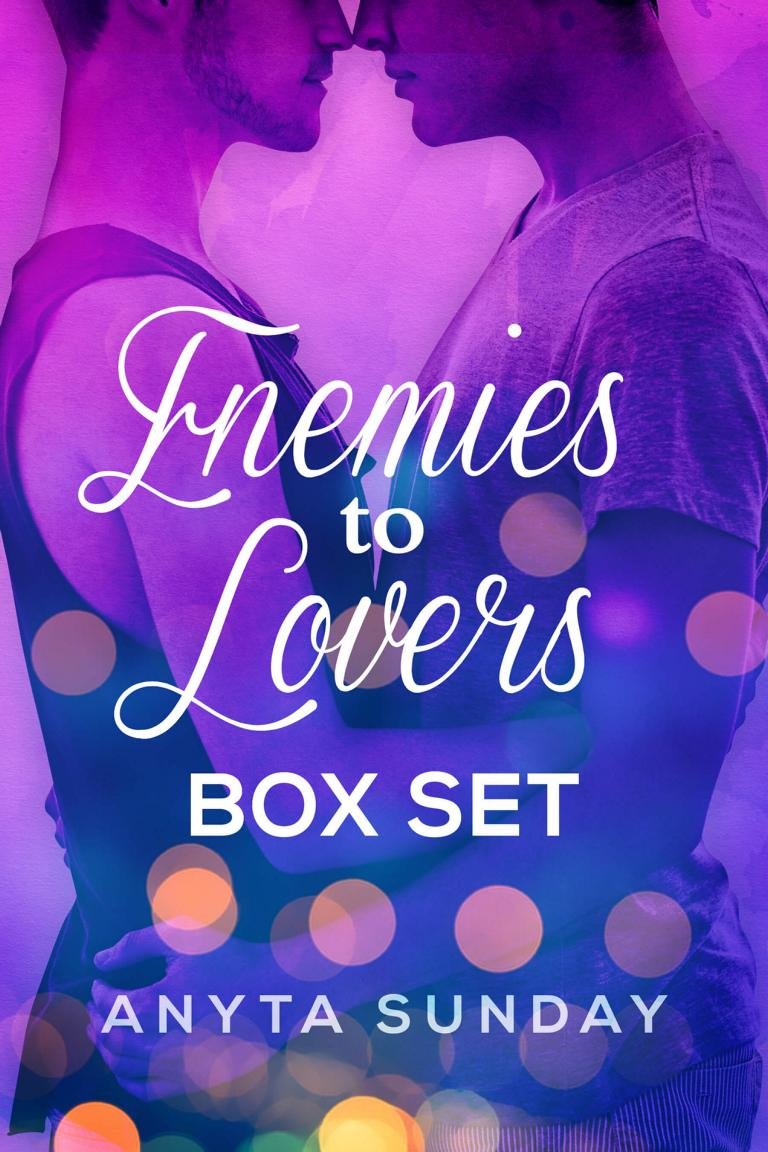 Gay Romance Novel Series Enemies to Lovers by Anyta Sunday