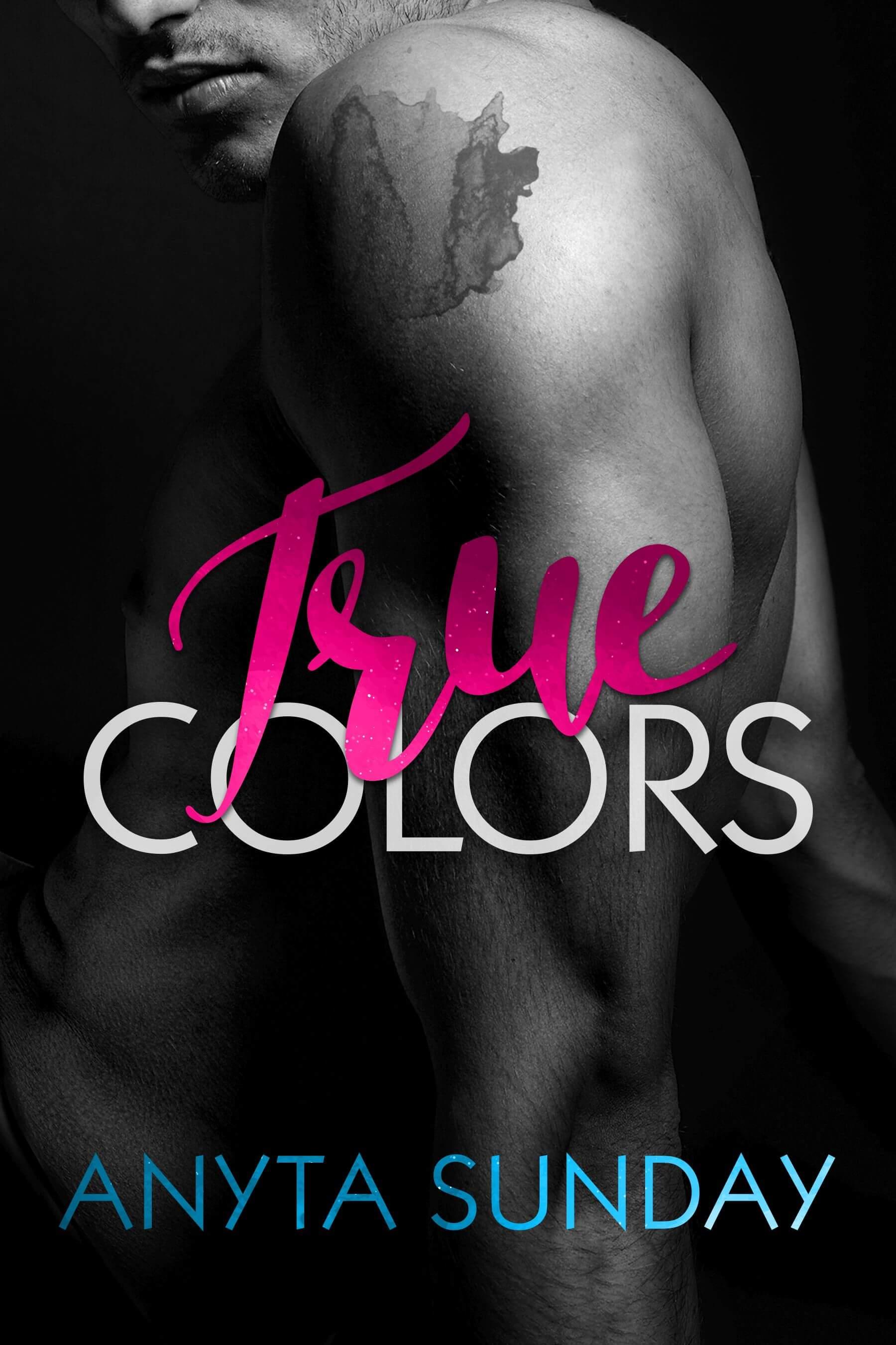 Gay Romance Novel True Colors by Anyta Sunday