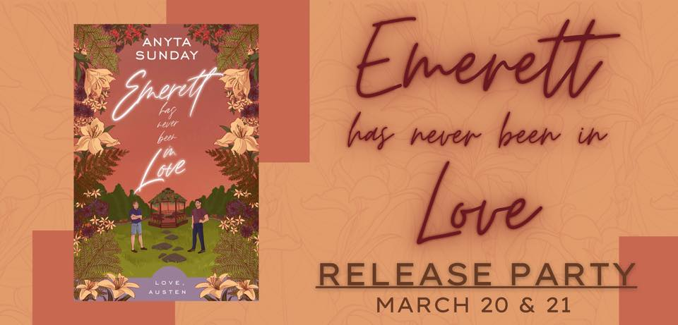Emerett Release Party with Anyta Sunday
