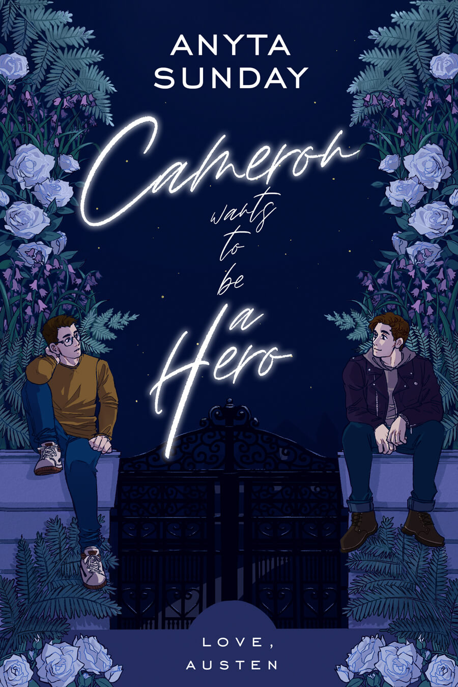 Cameron Wants To Be A Hero by Anyta Sunday - a retelling of Jane Austen's Northanger Abbey
