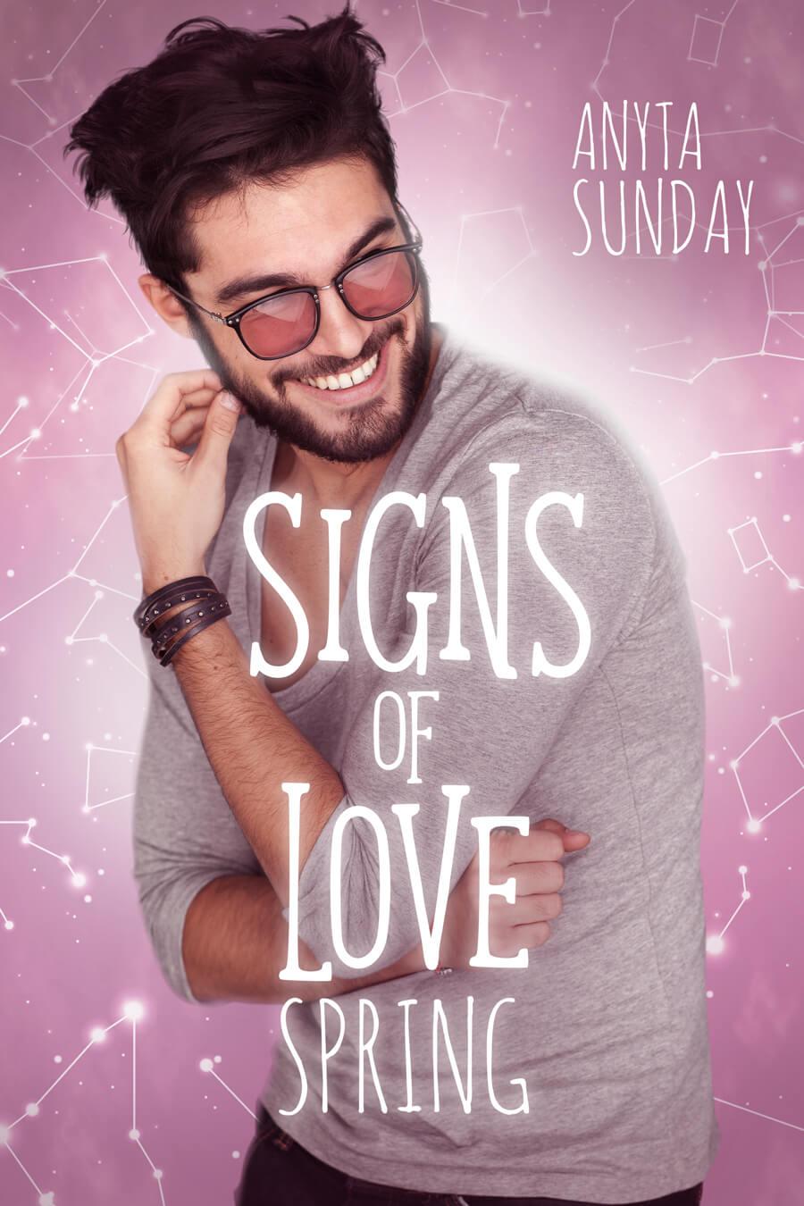 Signs of Love Spring Gay Romance Novella by Anyta Sunday