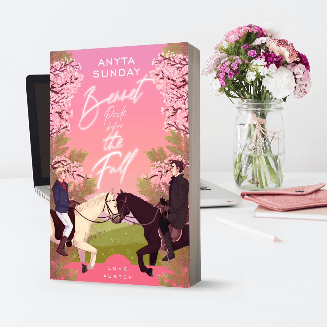 Bennet Pride Before The Fall by Anyta Sunday, a gay retelling of Jane Austen's Pride & Prejudice